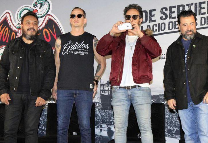 Molotov ofrecerá un concierto en el Palacio de los Deportes este 9 de septiembre en el marco de su #chingatourmadre. (Notimex)