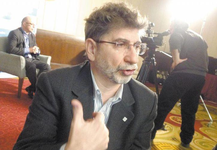 Daniel Ciriano, Director Médico de Roche Latam. (Milenio)
