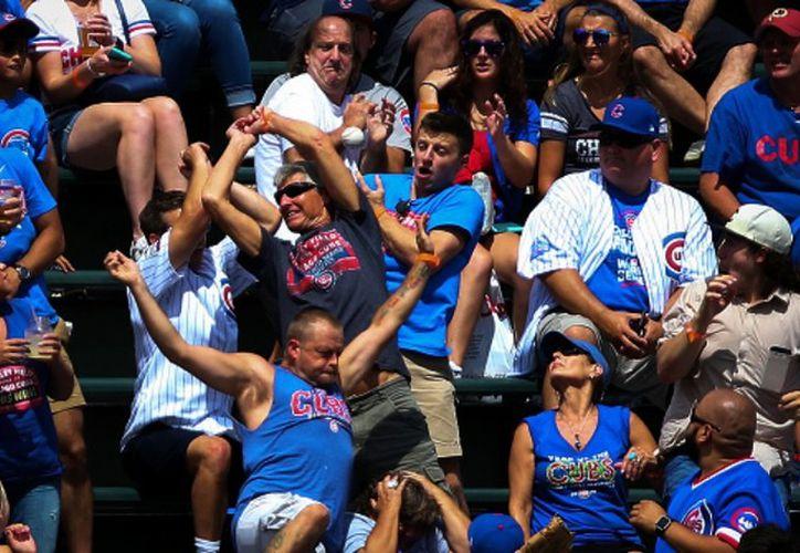 El hecho ocurrió durante el partido entre los Cubs y los Pittsburgh Pirates el 29 de agosto. (Foto: Medio Tiempo)