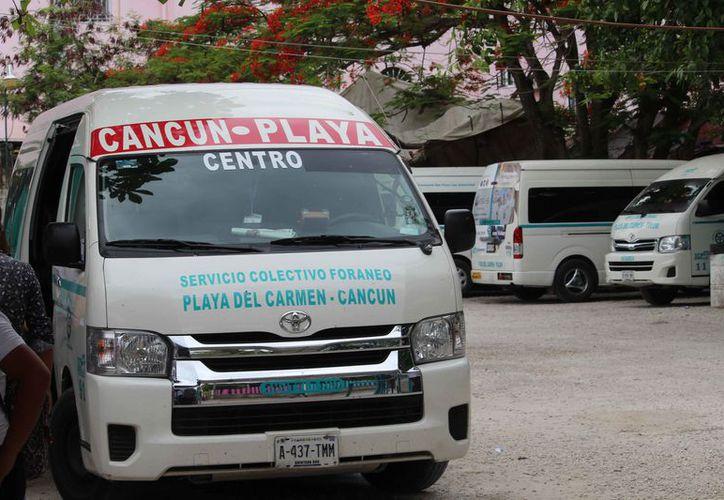Las unidades prestan el servicio a la ciudad de Cancún. (Octavio Martínez/SIPSE)