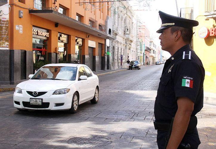 En lo que va de 2018 se han presentado 13 robos a peatones en el centro. (Foto: Milenio novedades)