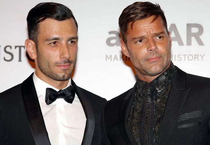 Ricky Martin disfrutó de la Navidad en compañía de Jwan Yosef. (Contexto/Internet)