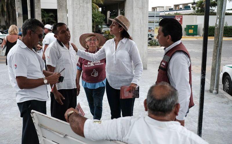 Marybel Villegas destacó que los pescadores no tienen ningún tipo de apoyo, y por eso es importante escucharlos. (SIPSE)