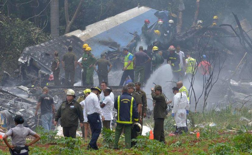 Por ahora no hay ninguna hipótesis sobre las causas del accidente de la aeronave. (El Nuevo Herlado)