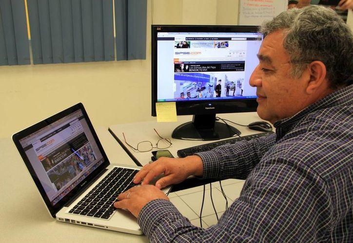 Daniel Uicab hoy es el coordinador de información del portal SIPSE.com. (José Acosta/SIPSE)