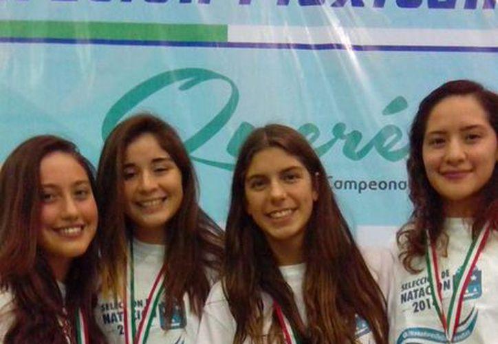 Fue la cuarta medalla de oro para la delegación quintanarroense, que compite también por su boleto a la Olimpiada Nacional 2015. (Redacción/SIPSE)