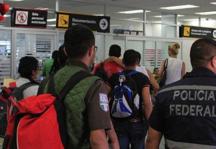 El grupo decidió permanecer en el Estado y no seguir con su ruta (Claudia Martín/ SIPSE)