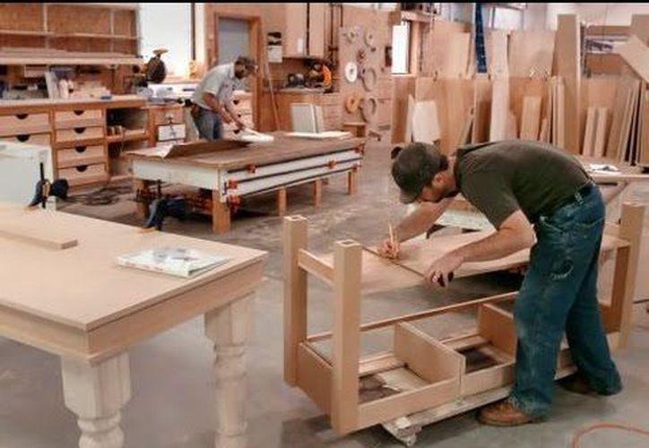 Los industriales de Q. Roo buscan promover la producción no contaminante, como las carpinterías. (Contexto/Internet)