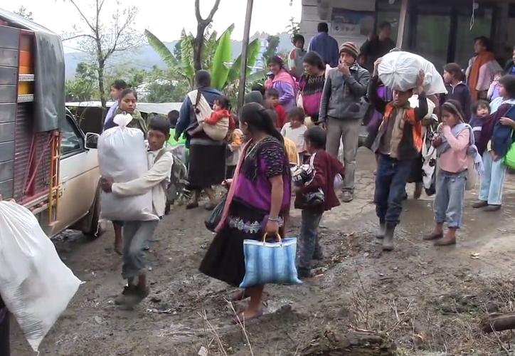 La Secretaría de Gobernación gestionó la adquisición de predios para las familias desplazadas. (Foto: Chacatorex)