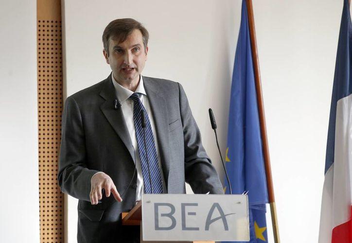 En conferencia de prensa, la agencia francesa de investigación BEA, informó que la causa del accidente del vuelo de Germanwings en los alpes franceses se debió al suicidio del copiloto Andreas Lubitz, quien padecía problemas psiquiátricos. (AP)