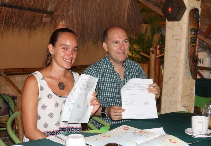 La Iniciativa Arrecifes Saludables y la Asociación de Hoteles de la Riviera Maya firmaron un convenio para el cuidado de los arrecifes. (Adrián Barreto/SIPSE)