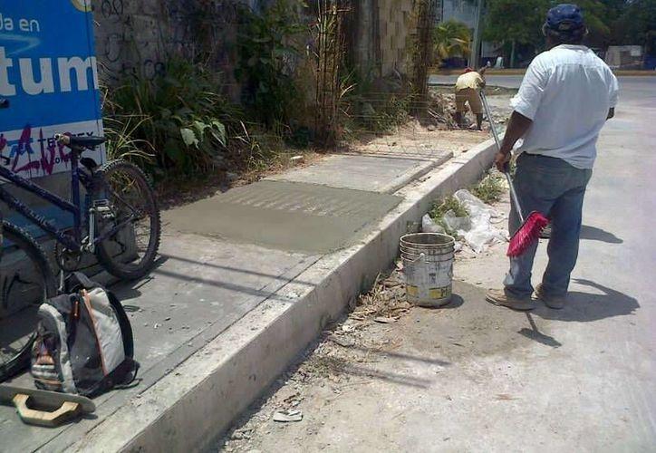 Invierten alrededor de medio millón de pesos en las obras. (Cortesía/SIPSE)