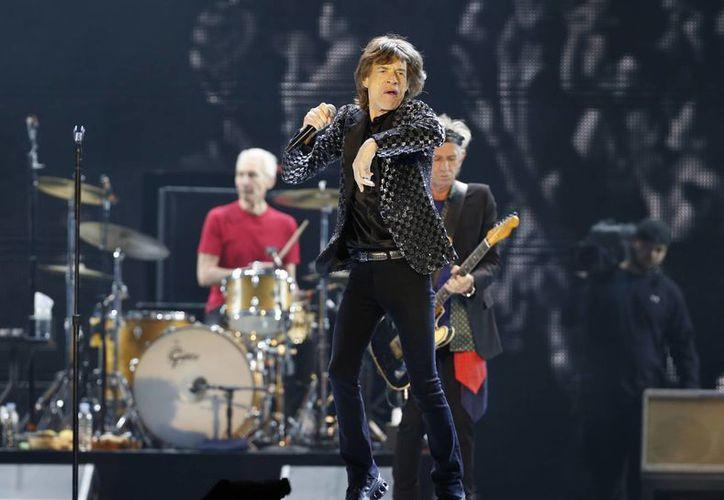 The Rolling Stones regresarán en mayo a EU por primera vez desde 2006, y su gira Zip Code la harán en el marco del relanzamiento de su disco 'Sticky Fingers'. (Foto:AP)