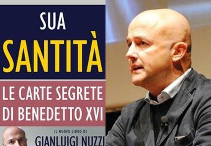 """El libro """"Las cartas secretas del Benedicto XVI"""" pertenece al periodista italiano Gianluigi Nuzzi. (blogspot.com)"""