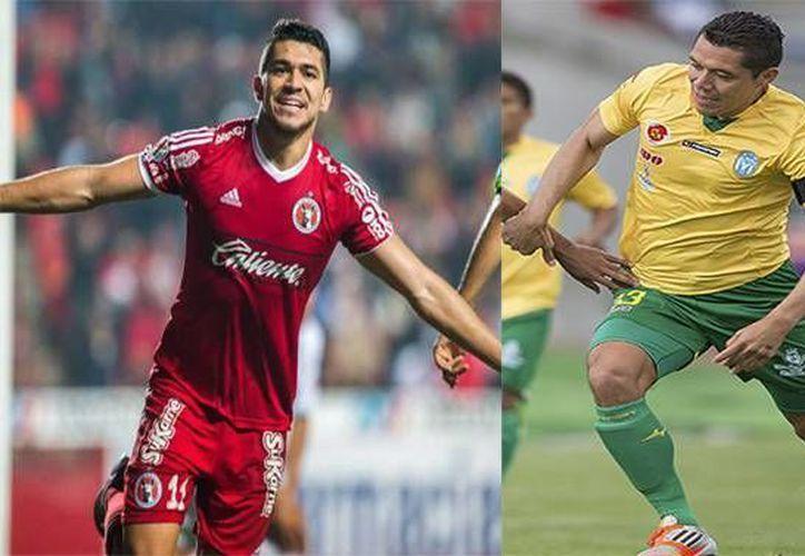 Henry (i) y Freddy Martín podrían protagonizar uno de los capítulos más especiales para el deporte yucateco, si ambos jugadores se hacen presentes este sábado en el partido de la Primera División Sinaloa-Tijuana, que se jugará en el Estadio Banorte. (Archivo SIPSE)