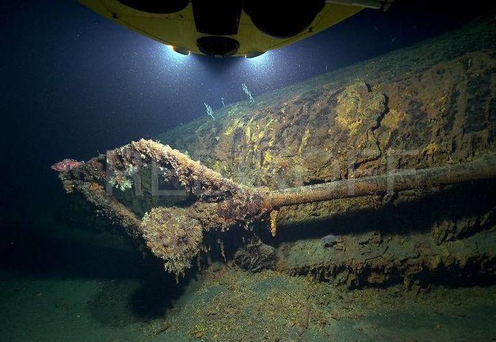 El U-581 se hundió en el Atlántico tras chocar con un buque británico. Solo cuatro de sus 46 ocupantes sobrevivieron. (rebikoff.org)