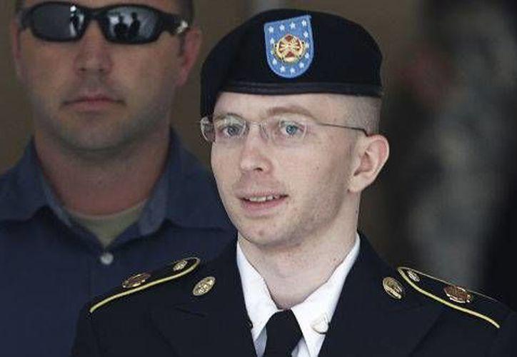 El soldado evita la condena máxima de 136 años en prisión. (Agencias)