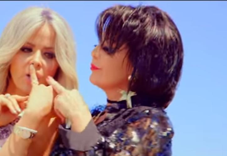 """Recientemente las intérpretes lanzaron el video musical para """"Cuando un Hombre te Enamora"""". (Captura Youtube)."""