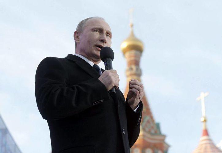 El presidente Putin aprobó una ley que sanciona a las organizaciones no gubernamentales que representen amenazas al orden constitucional ruso. (EFE)