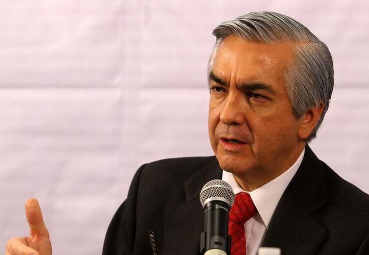 El subsecretario de Transporte de la SCT, Carlos Almada, informó que las bases de la licitación de los trenes se lazarán en enero del 2014. (Archivo Notimex)