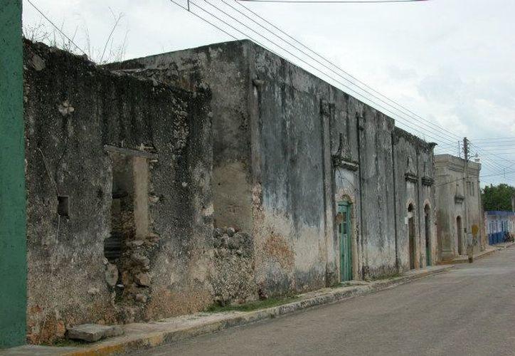 Las autoridades en el poblado coinciden en que son necesarios los trabajos de remodelación, rescate y rehabilitación de algunas estructuras. (Manuel Salazar/SIPSE)