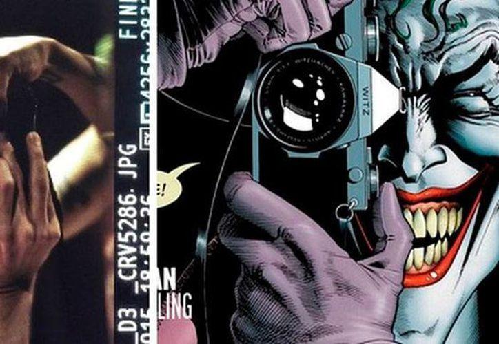 La imagen difundida ayer en donde puede verse, por primera vez, al actor Jared Loto, caracterizado como El Guasón. (nacion.com)