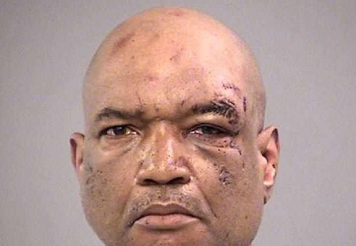 Gay Madison llegó a la zona del ataque en una bicicleta. (Marion County Jail)