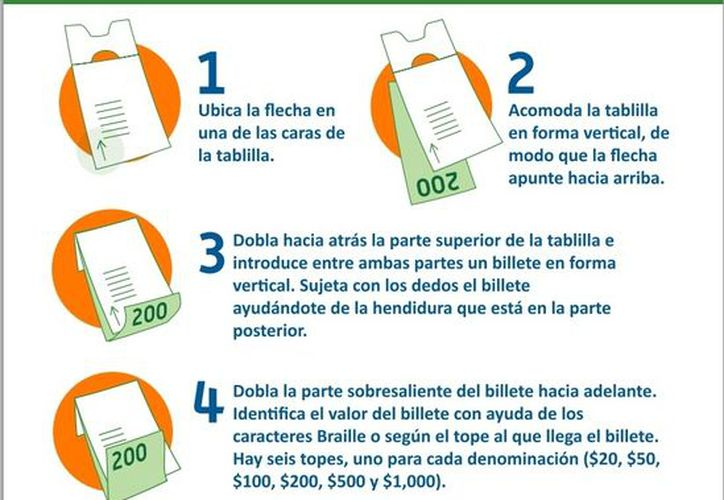 La tablilla se distribuye de manera gratuita en los puntos autorizados por Banxico. (banxico.org.mx)