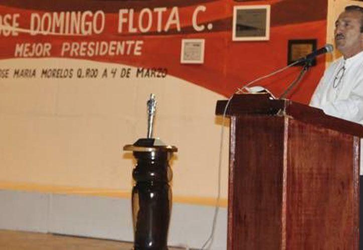 El presidente municipal agradeció a toda la población y a los trabajadores del Ayuntamiento, por colaborar en el bienestar del municipio. (Redacción/SIPSE)