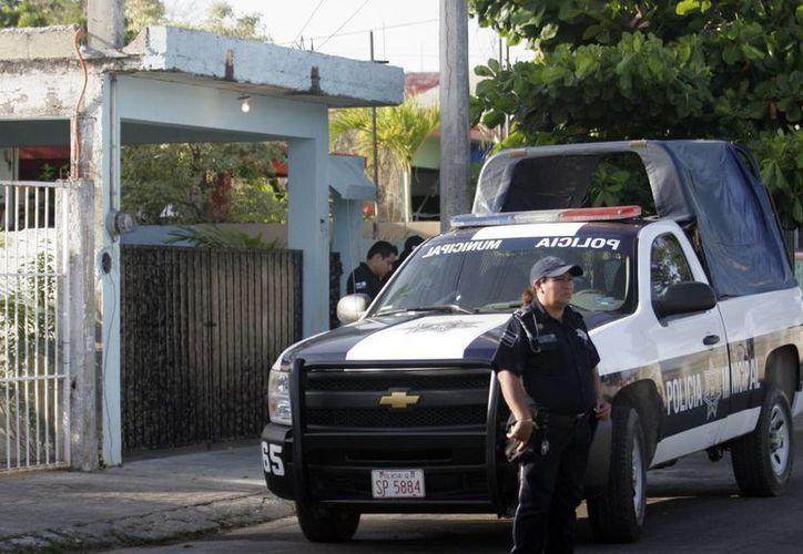 La ONU recomienda al menos 2.8 policías por cada mil ciudadanos. (Archivo/SIPSE)