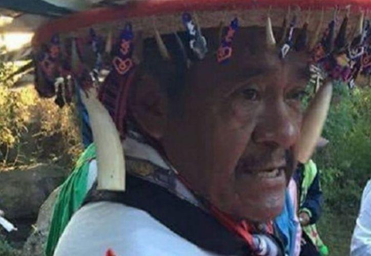 Margarito Díaz González era defensor de sitios sagrados del pueblo huichol. (excelsior.com)