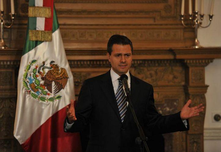Enrique Peña Nieto rendirá protesta como Presidente de México el 1 de diciembre. (Archivo/Notimex)