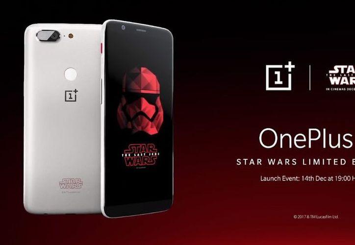 El equipo OnePlus 5T cuenta con una pantalla de 6 pulgadas con un panel Amoled. (Engadget)