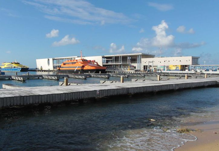 El 6 de junio de 2010 el muelle San Miguel fue remodelado y ampliado. (Gustavo Villegas/ SIPSE)