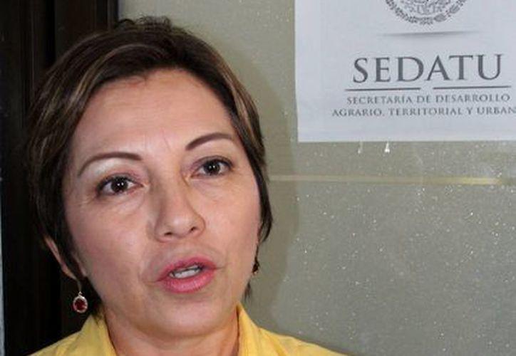 La directora general de Planeación, Leticia Orozco Aguilar. (Archivo/SIPSE)