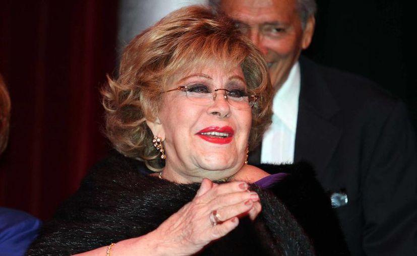 Días antes del asalto Silvia Pinal había retirado del banco una fuerte cantidad de dinero. (Notimex)