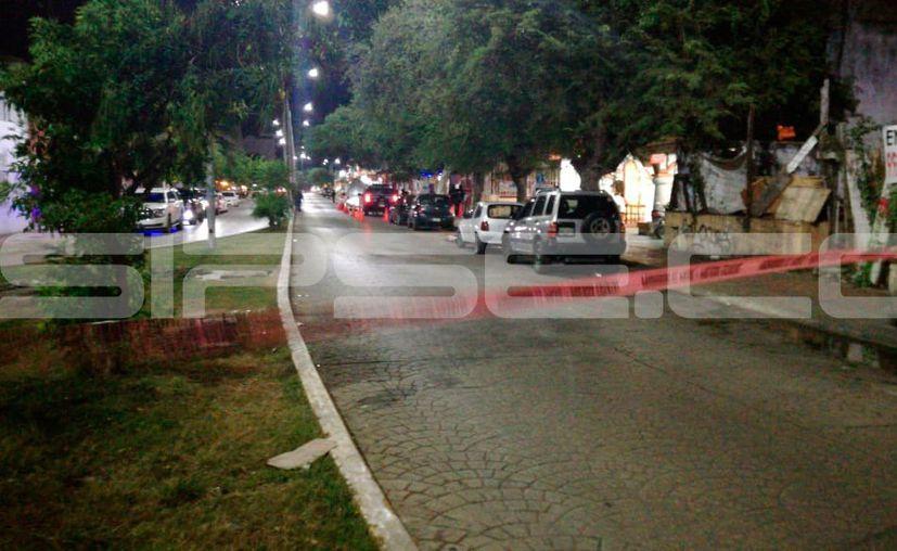 Realizan operativo en la avenida Yaxchilán. (Redacción/SIPSE)