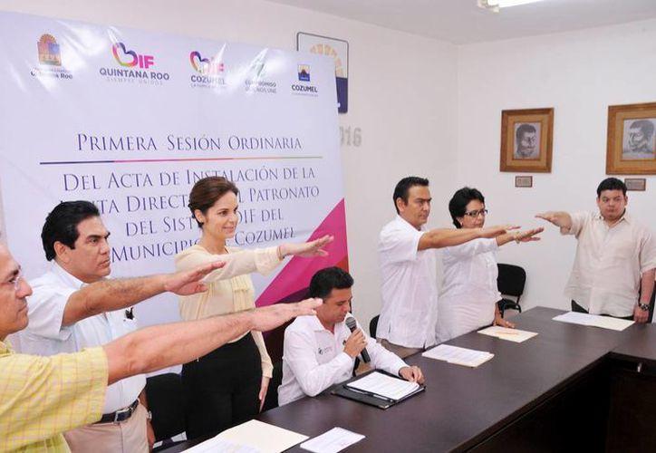 El evento tuvo lugar en la Sala de Cabildo del Ayuntamiento. (Cortesía/SIPSE)