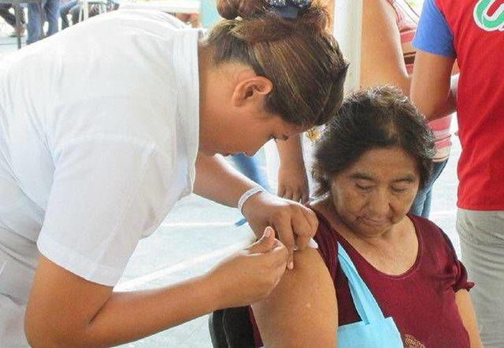 En las zonas mayas del sur del Estado se han aplicado más de 14 dosis en grupos de riesgo. (Redacción/SIPSE)