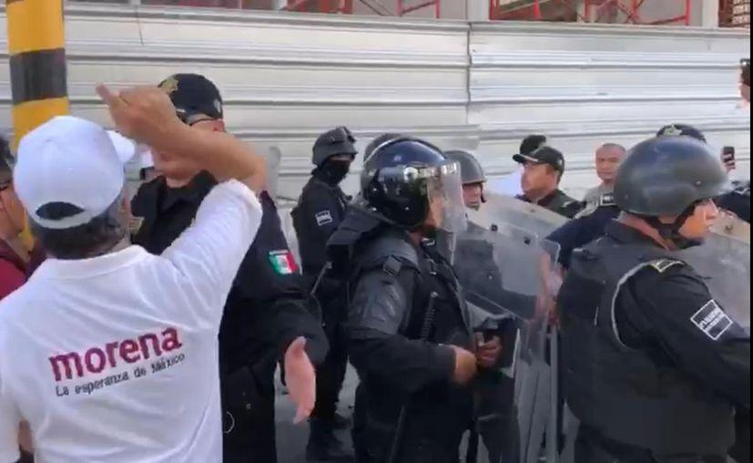 PAN acusa a Morena de contratar grupos de choque. (Especial)