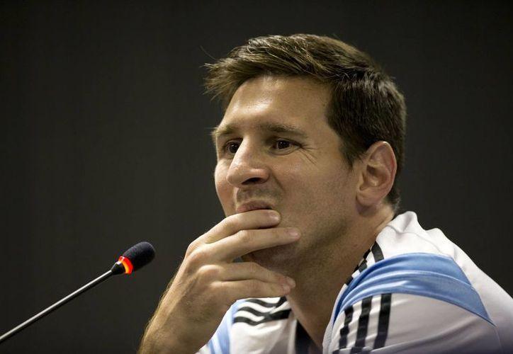 Messi admitió que hay muchas cosas por mejorar de cara a su próximo encuentro el sábado contra la selección de Irán. (AP)