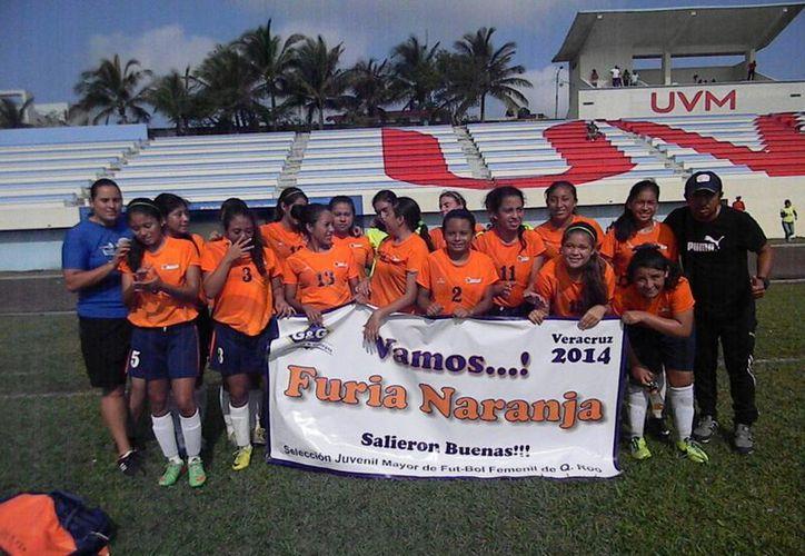 La rama femenil de fútbol de Quintana Roo avanza a la final, donde se enfrentará al Distrito Federal. (Redacción/SIPSE)