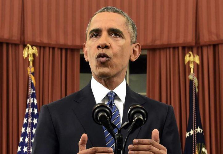 El presidente Obama ofreció un mensaje a la Nación en donde pidió una vez más al Congreso que autorice la regulacción del acceso a las armas de fuego. (AP)