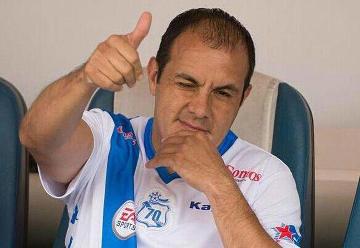 El exjugador Cuauhtémoc Blanco  dio la receta al colombiano Juan Carlos Osorio para salir de la crisis de credibilidad. (@cuauhtemocb)
