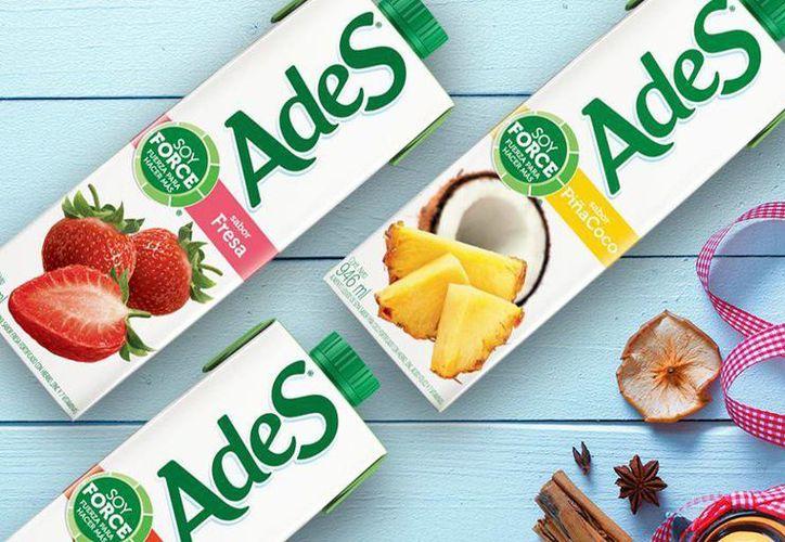 AdeS es la marca de alimentos líquidos de soya líder en América Latina. (facebook.com/Ades)