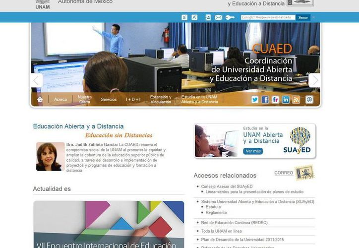 Cirilo Cosme terminó sus estudios de licenciatura en Pedagogía, mediante el Sistema Universidad Abierta de la UNAM. (cuaed.unam.mx)