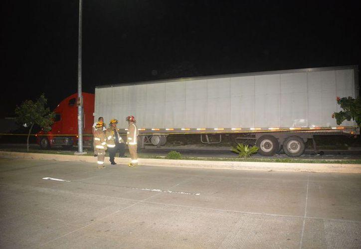 El accidente se registró sobre la avenida 38 con Arco Vial. (Redacción)
