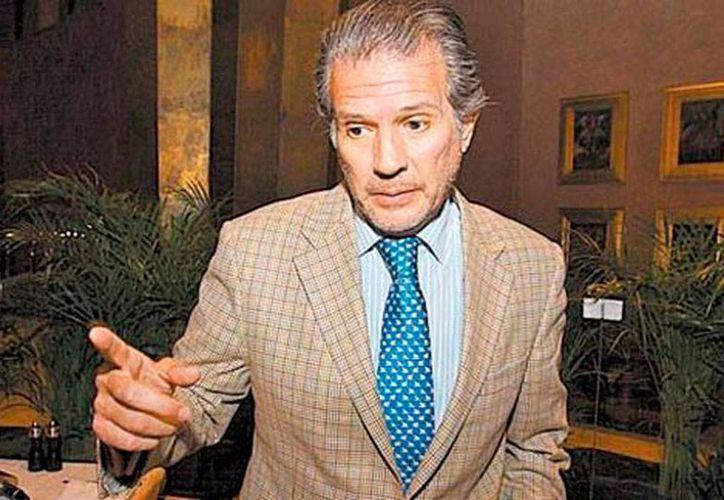 Gabino Antonio Fraga (foto), ex jefe de la campaña que llevó a Enrique Peña Nieto a la presidencia, reconoce que los más de 445 mil euros depositados en un banco que actualmente es investigado en España son 'patrimonio familiar'. (Milenio Digital)