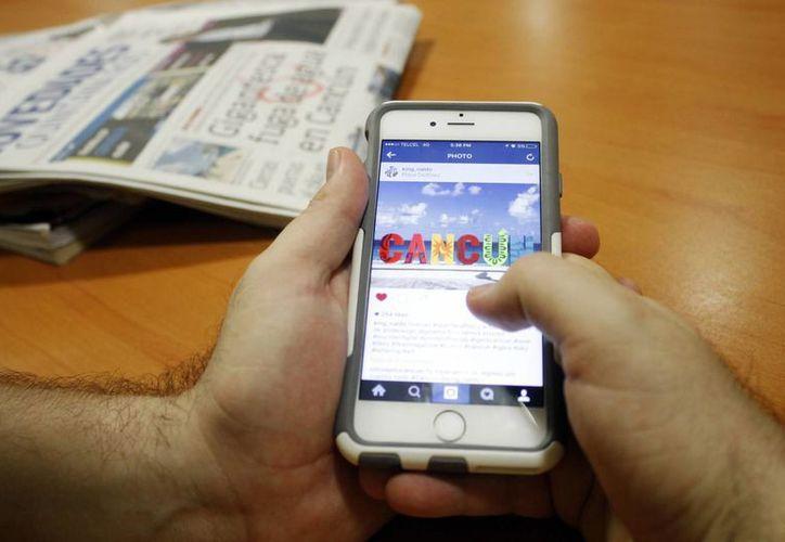 Instagram es una aplicación que ha logrado el posicionamiento de marcas. (Yajahira Valtierra/SIPSE)