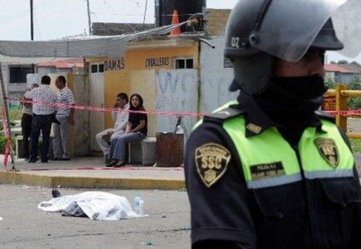 Las ejecuciones son la segunda  causa de muerte en México. (Archivo Notimex)
